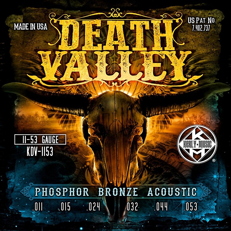 Kerly MusicDeath Valley Acoustic Guitar Strings (11-53)