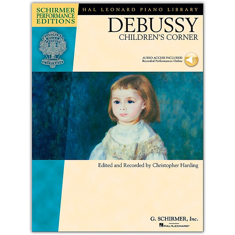 G. Schirmer Debussy - Children's Corner Piano Schirmer Performance Edition Book/Online Audio