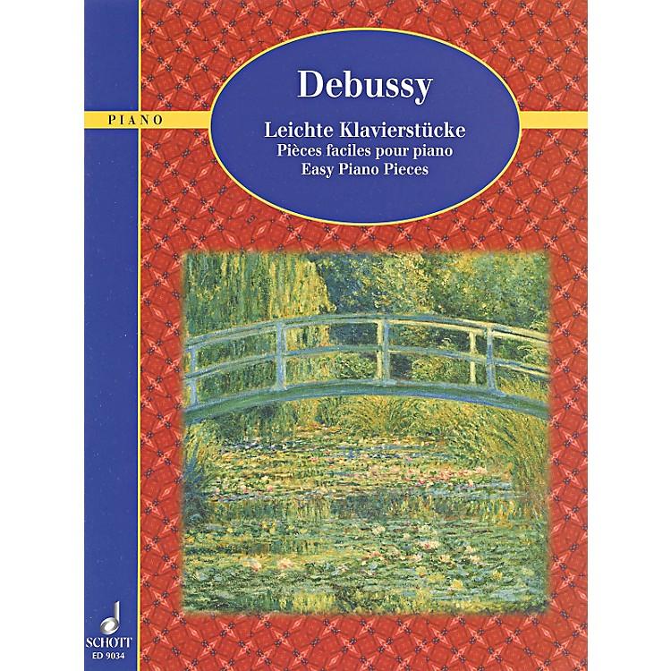 SchottDebussy - Easy Piano Pieces