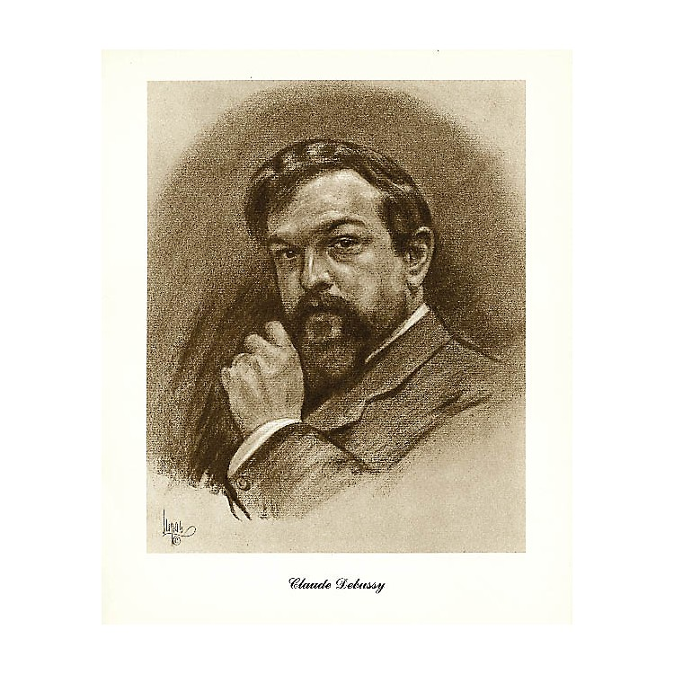 Music SalesDebussy (Lupas Large Portrait Poster) Music Sales America Series
