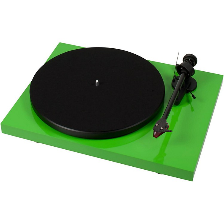 Pro-Ject Debut Carbon DC Record Player Green