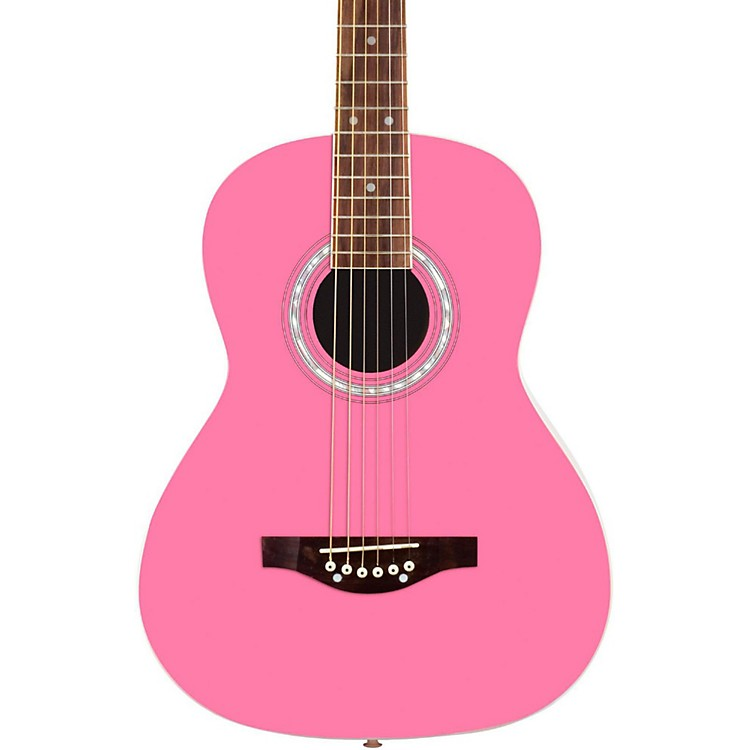 Daisy Rock Debutante Junior Miss Short Scale Acoustic Guitar Popsicle Purple