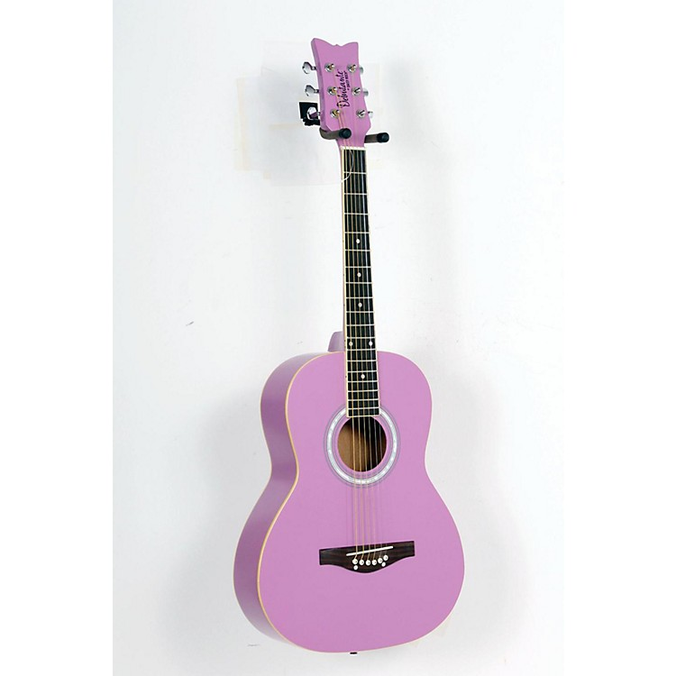 Daisy Rock Debutante Junior Miss Short Scale Acoustic Guitar Popsicle Purple 888365139104
