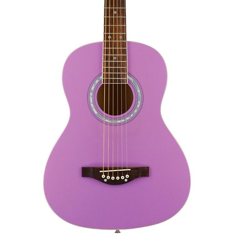 Daisy RockDebutante Junior Miss Short Scale Acoustic GuitarPopsicle Purple