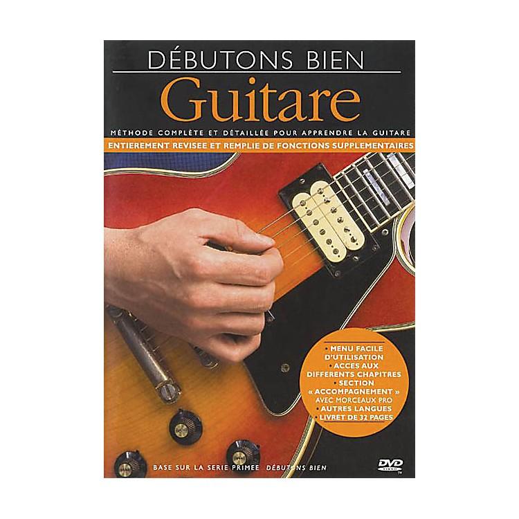 Music SalesDebutons Bien: La Guitare Music Sales America Series DVD Written by Arthur Dick