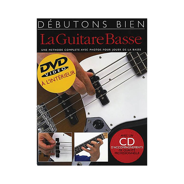 Music SalesDebutons bien la guitare basse - Absolute Beginners Bass French Edition Music Sales America by P Mulford