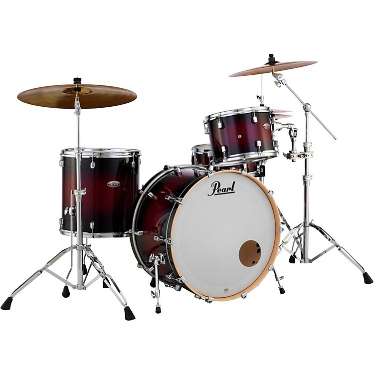 Pearl Decade Maple 3-Piece Shell Pack Gloss Deep Red Burst