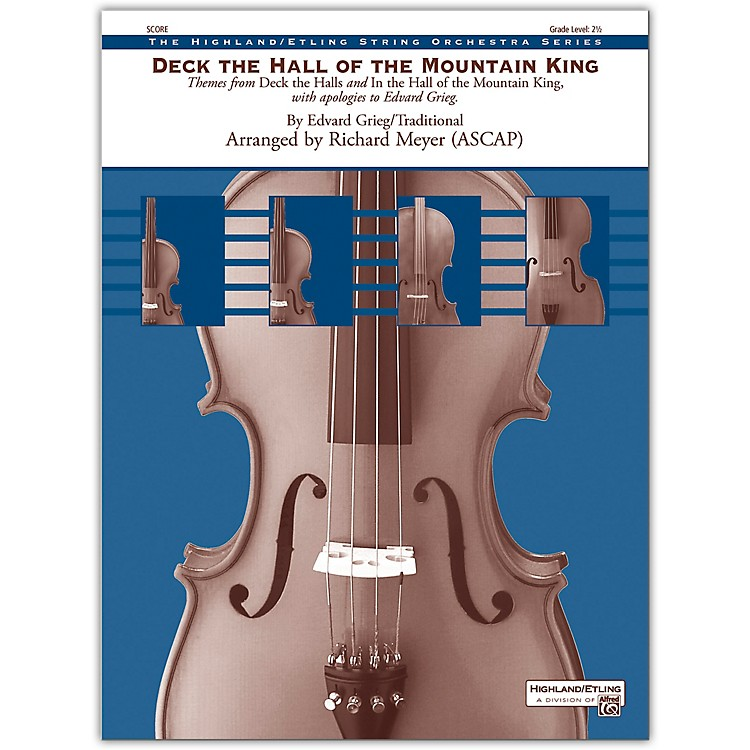 AlfredDeck the Hall of the Mountain King Conductor Score 2.5
