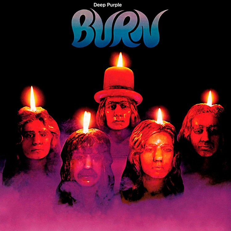 RED Deep Purple - Burn LP