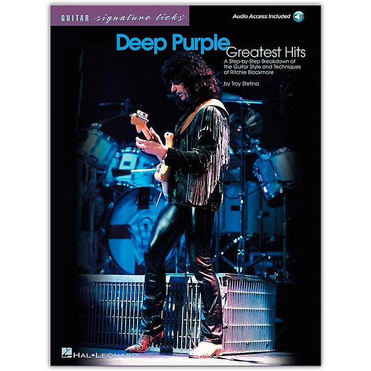 Hal LeonardDeep Purple Greatest Hits Guitar Signature Licks (Book/Online Audio)