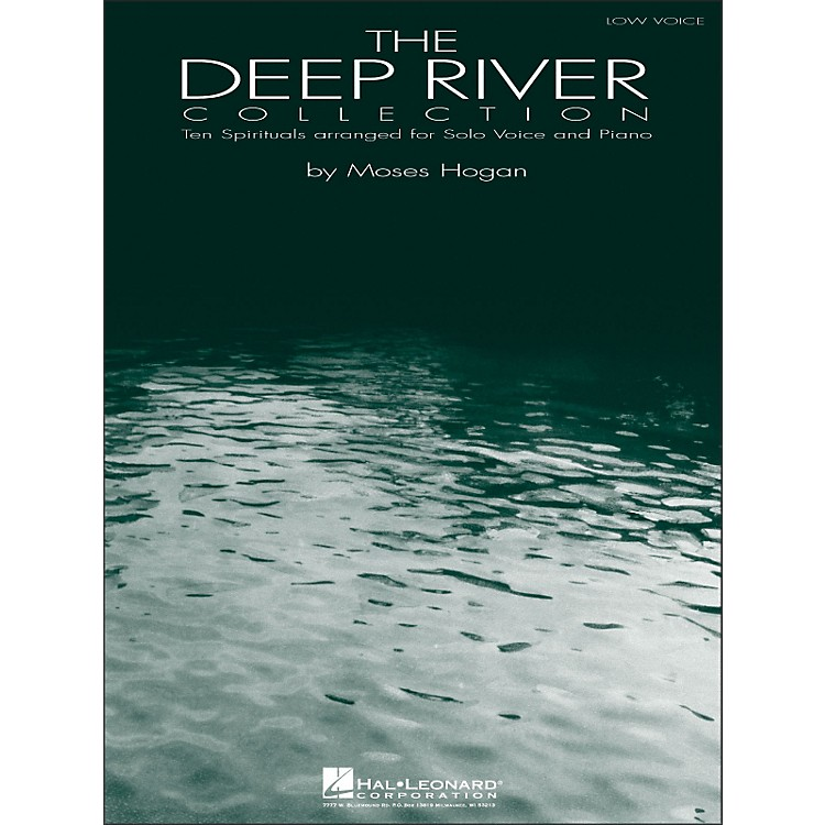 Hal LeonardDeep River - Ten Spirituals for Solo Voice And Piano Volume 1 for Low Voice