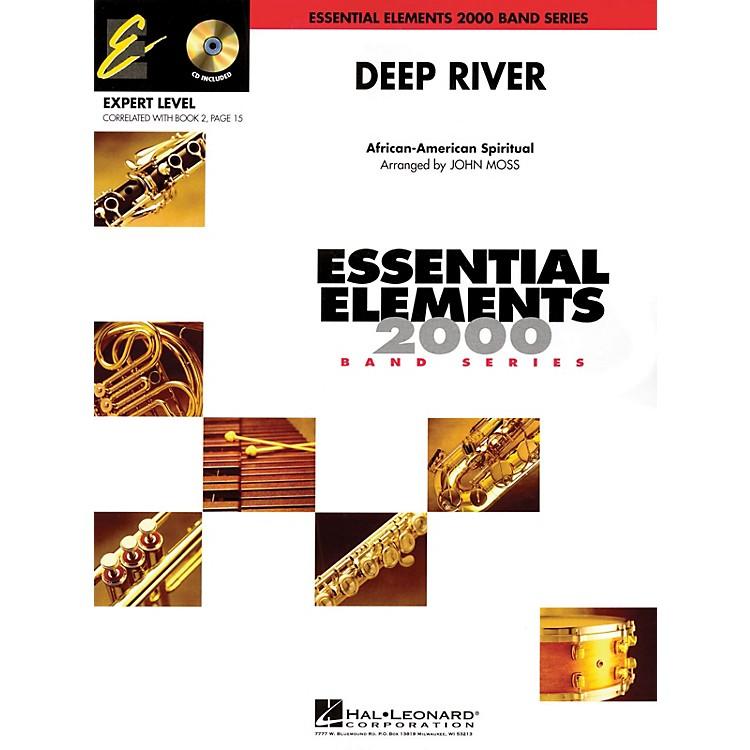 Hal LeonardDeep River (Includes Full Performance CD) Concert Band Level 2 Arranged by John Moss