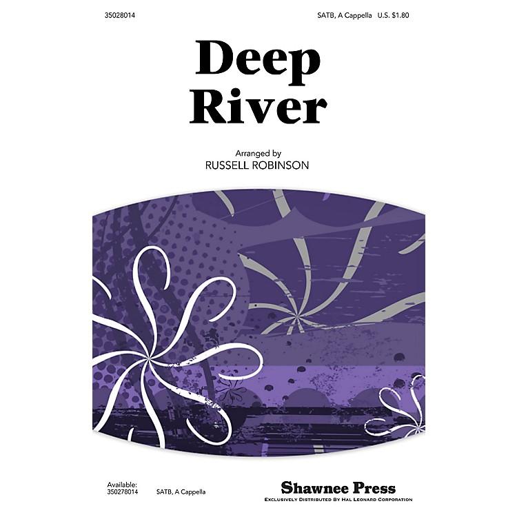 Shawnee PressDeep River SATB a cappella arranged by Russell Robinson