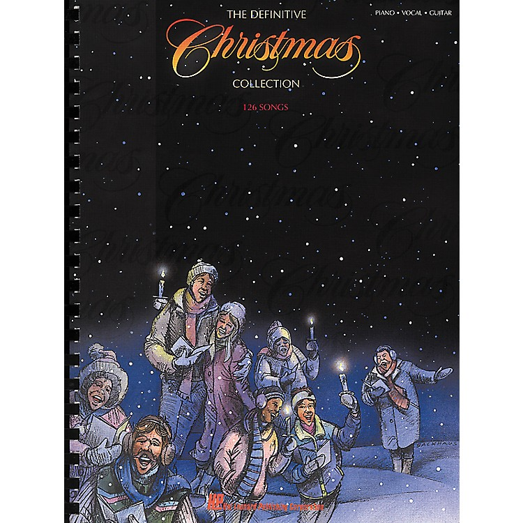 Hal Leonard Definitive Christmas Collection Piano, Vocal, Guitar Songbook