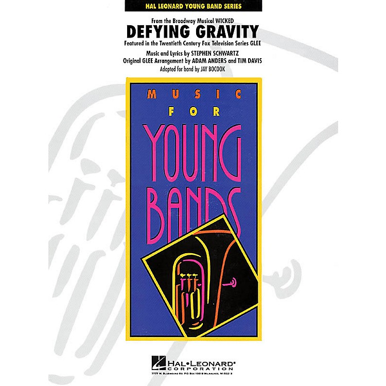 Hal Leonard Defying Gravity (from Wicked) - Young Concert Band Series Level 3 arranged by Jay Bocook