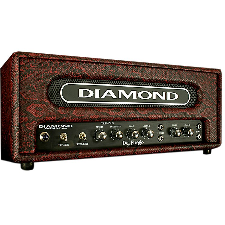 Diamond Amplification Del Fuego USA Custom Series 22W Tube Guitar Amp Head Black
