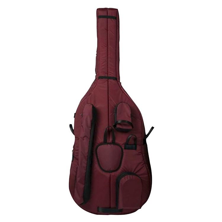MooradianDeluxe 1/2 Double Bass Bag1/2 Burgundy