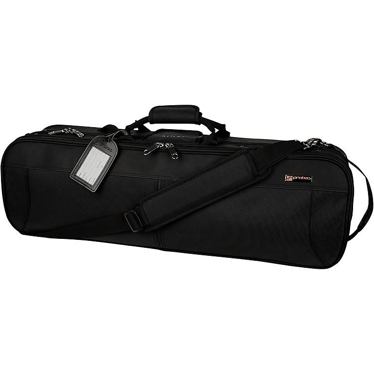 ProtecDeluxe 4/4 Violin Pro Pac CaseBlack Exterior, Black Interior