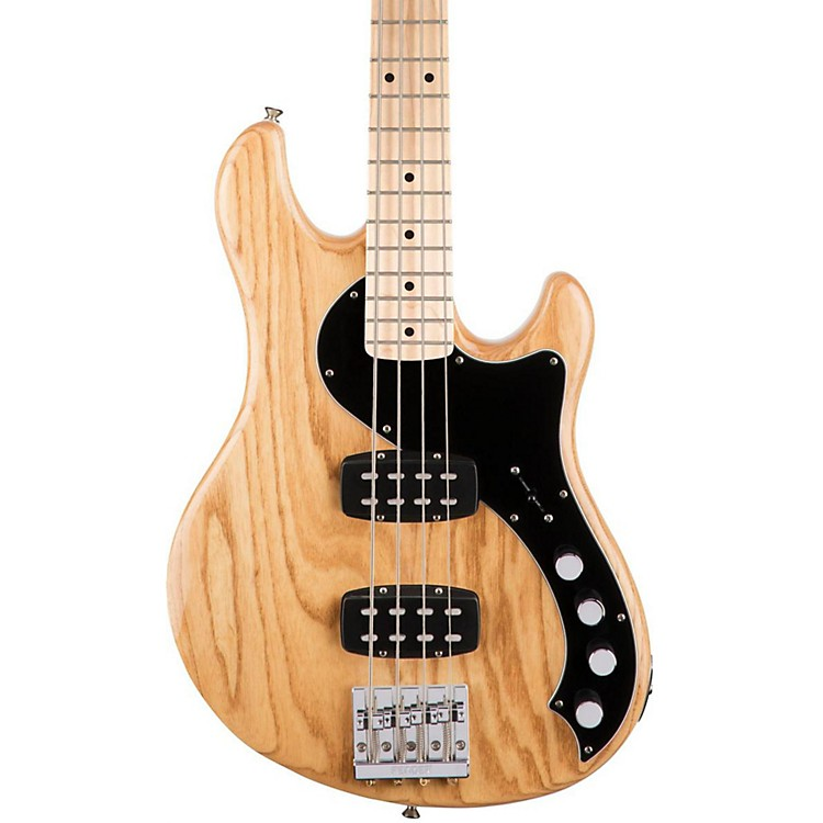 Fender Deluxe Active Dimension Bass Guitar, Maple Fingerboard Natural