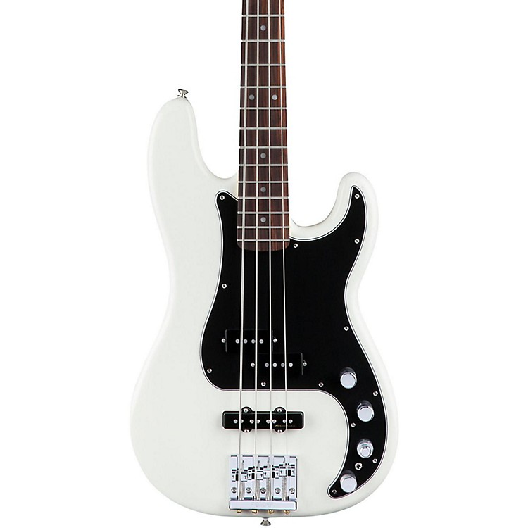 FenderDeluxe Active Precision Bass Special, Rosewood FingerboardOlympic White