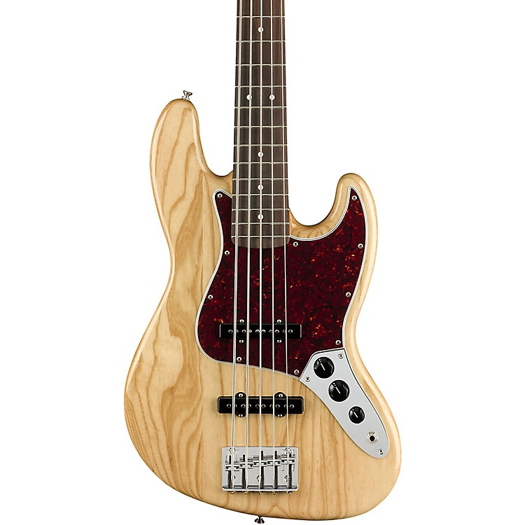 FenderDeluxe Ash Jazz Bass V Limited EditionNatural
