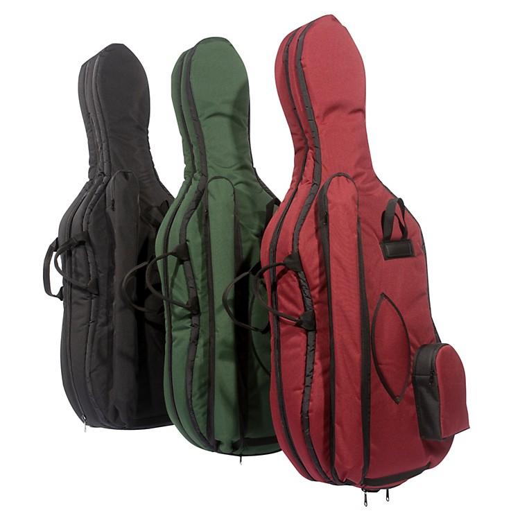 MooradianDeluxe Cello Bag1/4 Burgundy