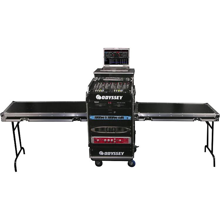 OdysseyDeluxe Dual Table Glide Style Combo Rack