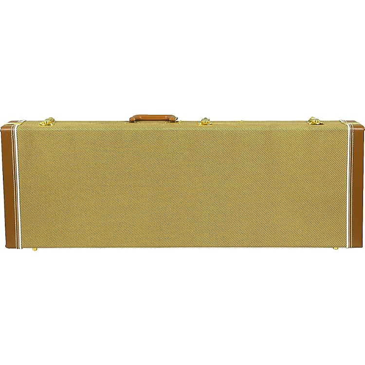 Musician's Gear Deluxe Electric Guitar Case Tweed