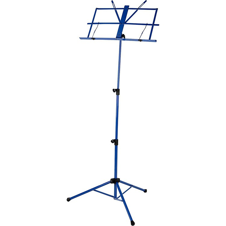 Strukture Deluxe Folding Music Stand - Assorted Colors Blue