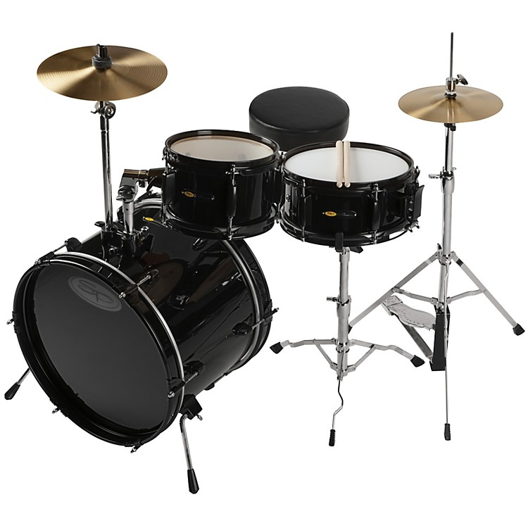 sound percussion labs deluxe jr 3 piece drum set music123. Black Bedroom Furniture Sets. Home Design Ideas