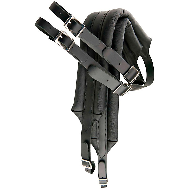 Perri'sDeluxe Leather Accordion Strap with Metal BucklesSenior Size