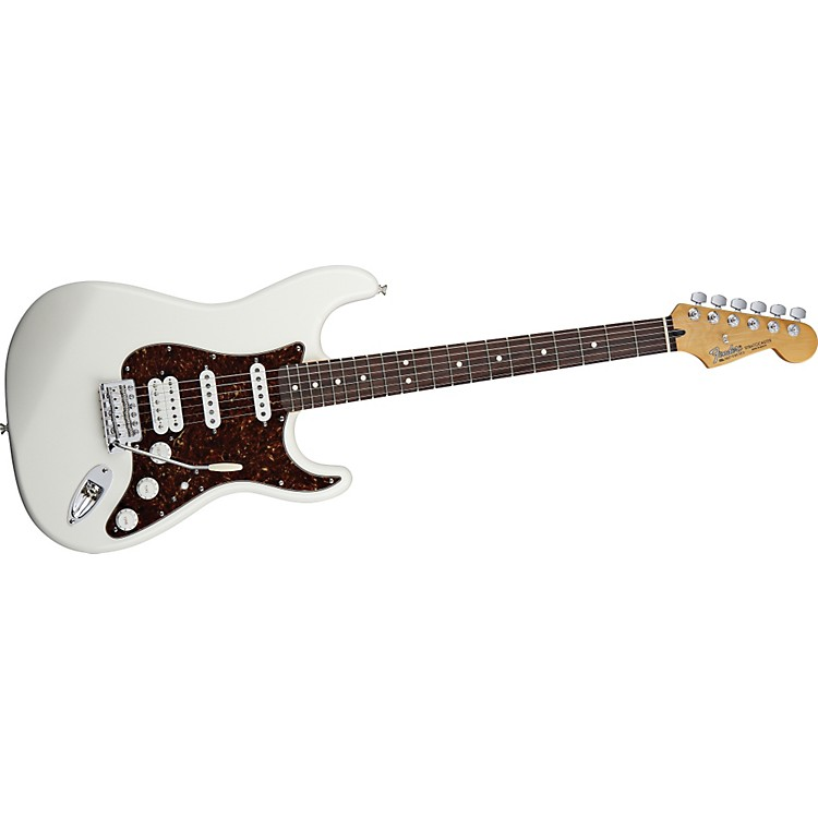 Fender Deluxe Lonestar Stratocaster Electric Guitar Arctic White