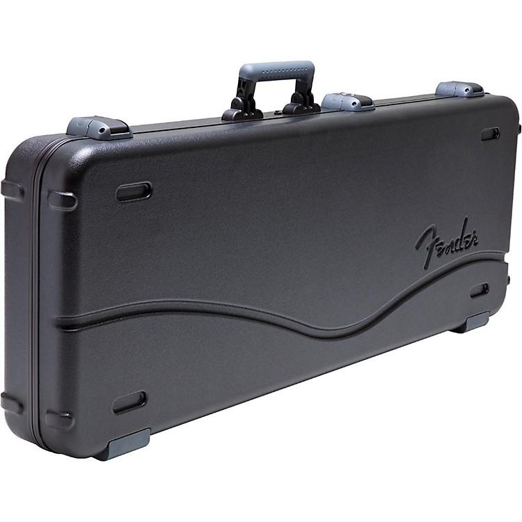 FenderDeluxe Molded ABS Jaguar/Jazzmaster Guitar CaseBlackGray/Silver