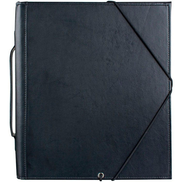 ProtecDeluxe Music Folder With Elastic String Dividers 9.5 X 12.75