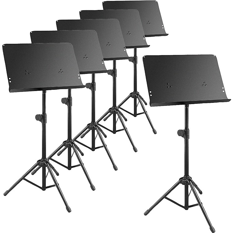 Musician's GearDeluxe Music Stand 6-Pack