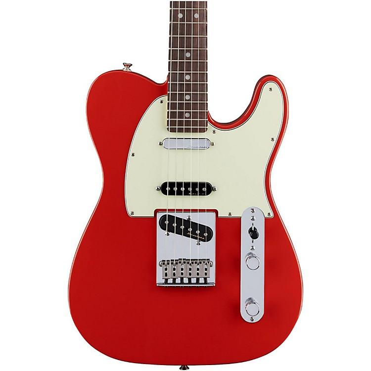 FenderDeluxe Nashville Rosewood Fingerboard TelecasterFaded Fiesta Red