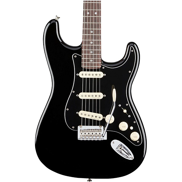 FenderDeluxe Rosewood Fingerboard StratocasterBlack888365910956