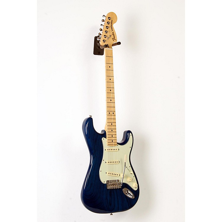 Fender Deluxe Stratocaster Maple Fingerboard Transparent Sapphire Blue 888365903965