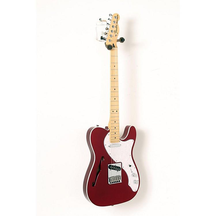 FenderDeluxe Thinline Telecaster Maple FingerboardCandy Apple Red888365911373