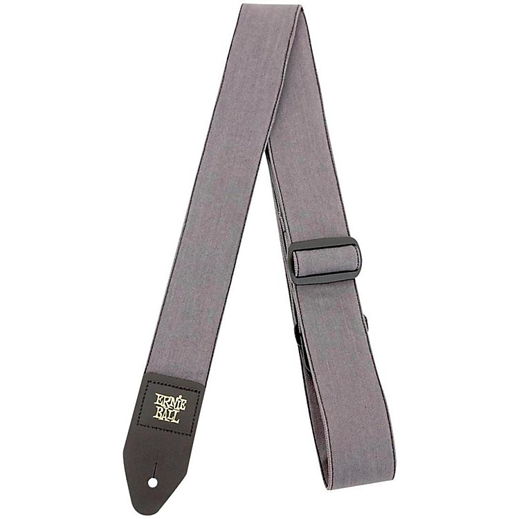 Ernie Ball Denim Guitar Strap Indigo Rinse 2 in.