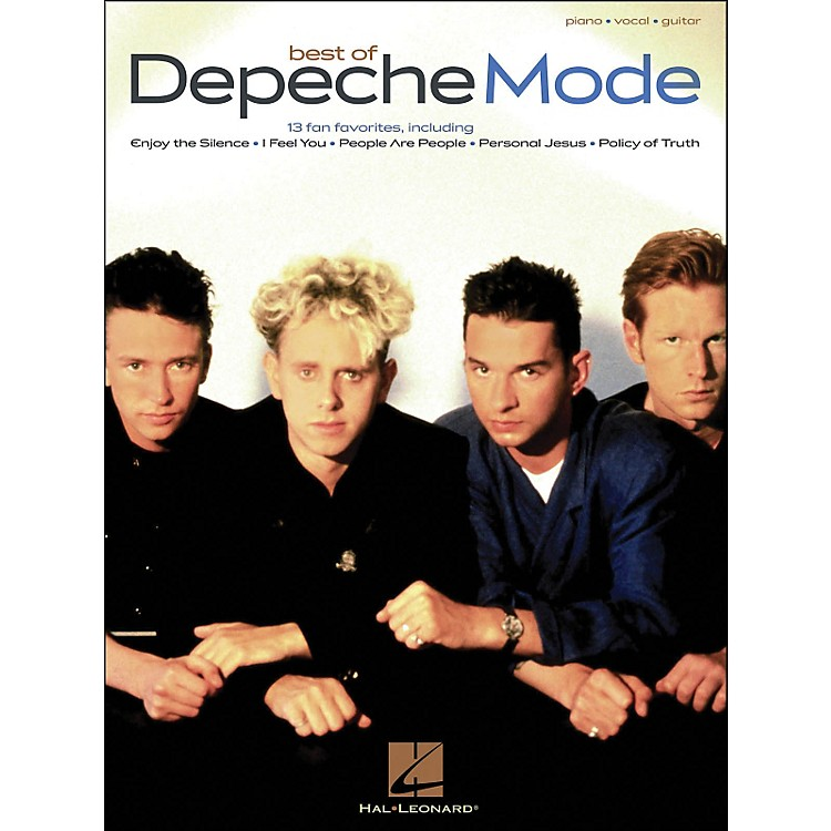 Hal LeonardDepeche Mode, Best Of arranged for piano, vocal, and guitar (P/V/G)