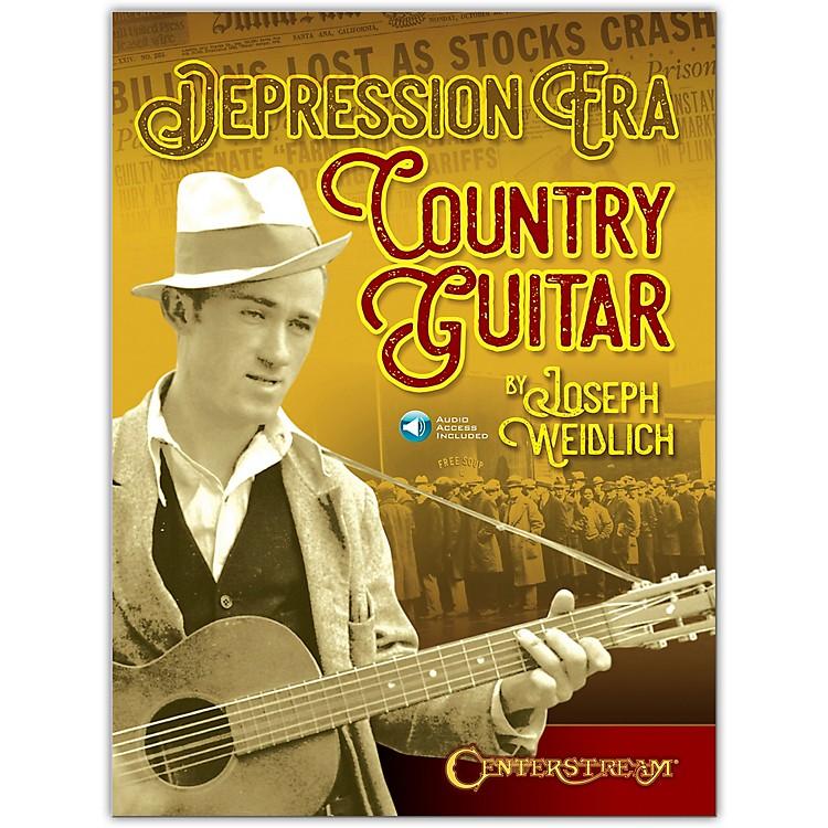 Centerstream PublishingDepression Era Country Guitar Book/Audio Online