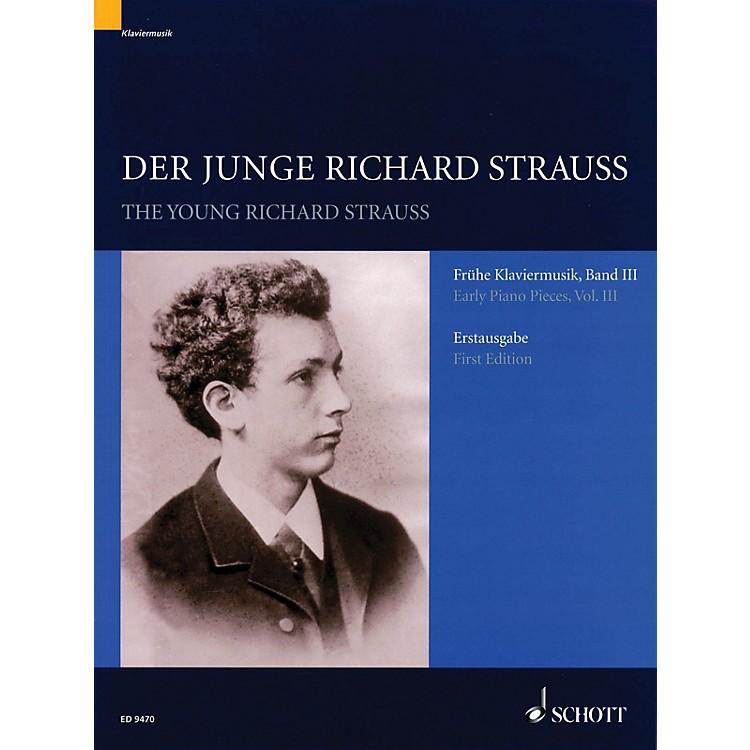SchottDer junge Richard Strauss Schott Series Softcover