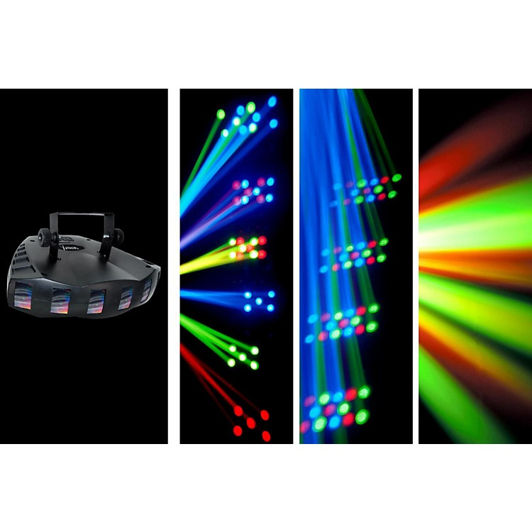 CHAUVET DJ Derby X LED Derby Static/Blackout Effect and Strobe Light