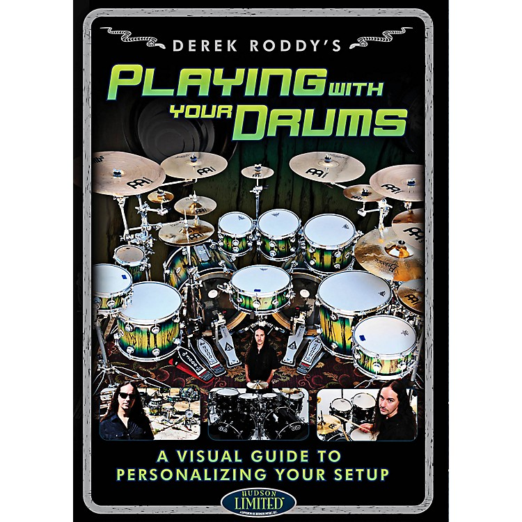 Hudson Music Derek Roddy - Playing With Your Drums DVD
