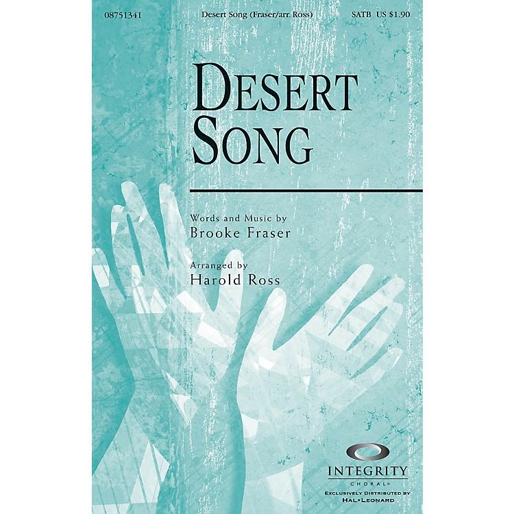 Integrity ChoralDesert Song CD ACCOMP Arranged by Harold Ross