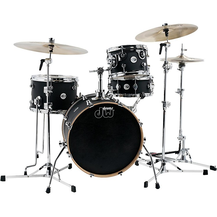 DW Design Series Mini-Pro 4-Piece Shell Pack Satin Black