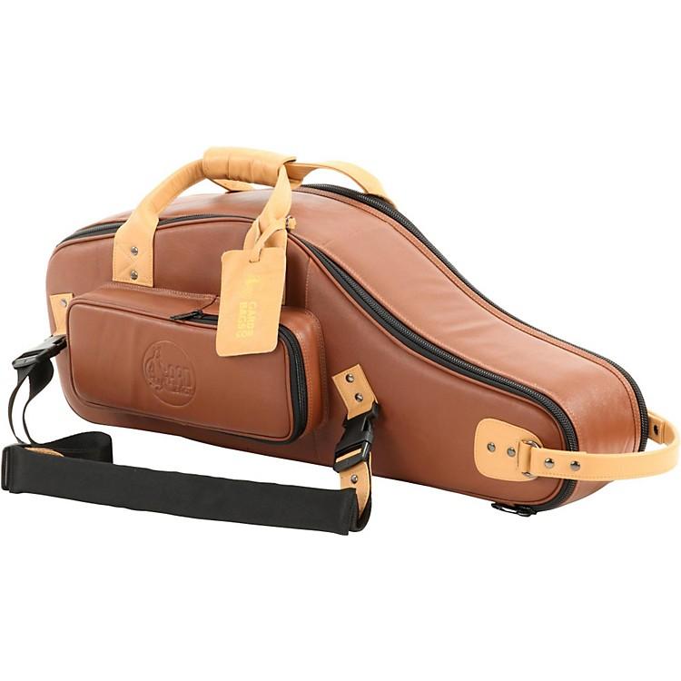 GardDesigner Leather Alto Saxophone Gig BagBrownBlack