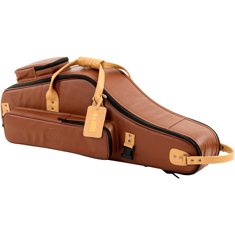 GardDesigner Leather Tenor Saxophone Gig BagBrownBlack
