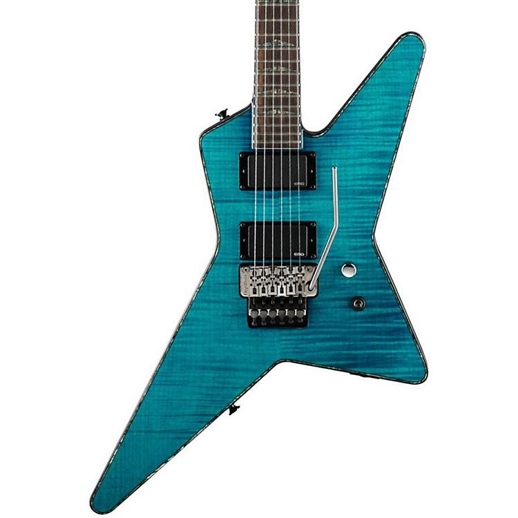 CharvelDesolation DST1-FR Star Electric GuitarTransparent Blue